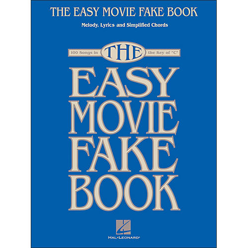 Hal Leonard The Easy Movie Fake Book - 100 Songs In The Key Of C-thumbnail