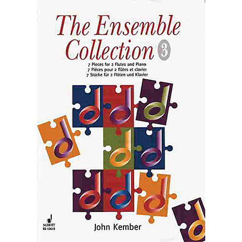 Schott The Ensemble Collection - Volume 3 (7 Pieces Score and Parts) Schott Series Composed by John Kember
