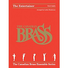 Hal Leonard The Entertainer Brass Ensemble Series Book by Canadian Brass Arranged by Luther Henderson