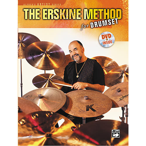 Alfred The Erskine Method for Drumset (Book/DVD)-thumbnail