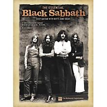 Hal Leonard The Essential Black Sabbath Easy Guitar Tab Songbook