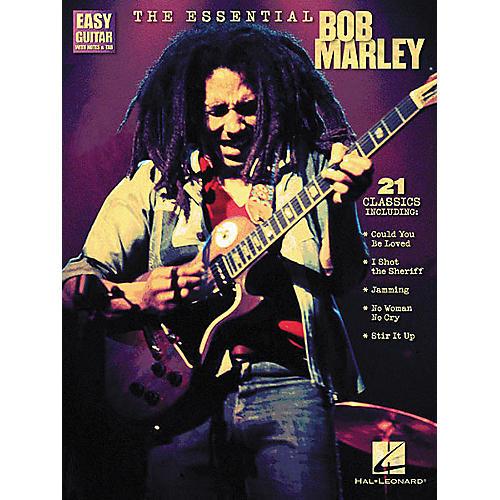 Hal Leonard The Essential Bob Marley Easy Guitar Tab Songbook-thumbnail
