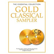 Music Sales The Essential Collection - Gold Classical Sampler For Piano Solo Book/2CDs