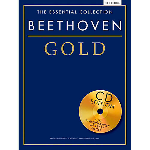 Music Sales The Essential Collection Beethoven Gold Book/CD-thumbnail