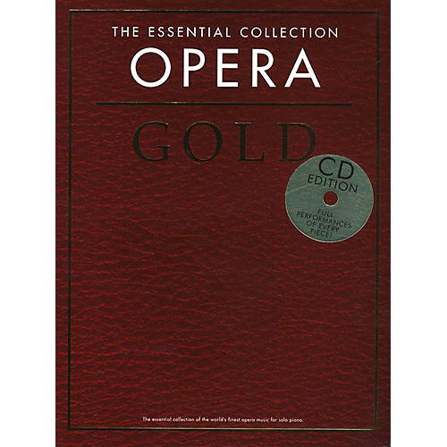 Music Sales The Essential Collection Opera Gold Book/2CD-thumbnail