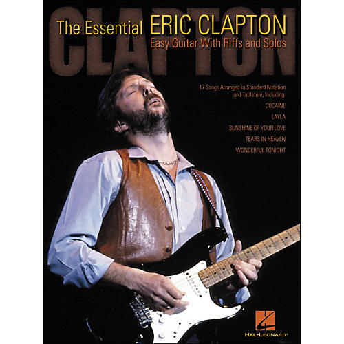 Hal Leonard The Essential Eric Clapton Easy Guitar Tab with Riffs And Solos-thumbnail