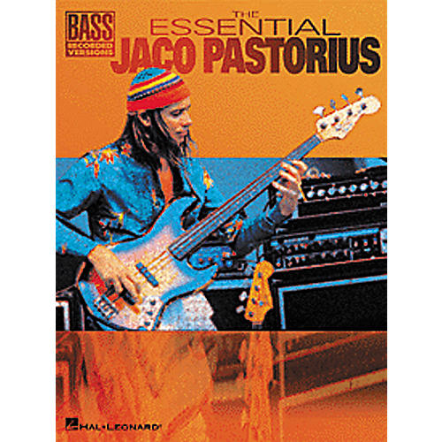 Hal Leonard The Essential Jaco Pastorius Bass Guitar Tab Songbook-thumbnail