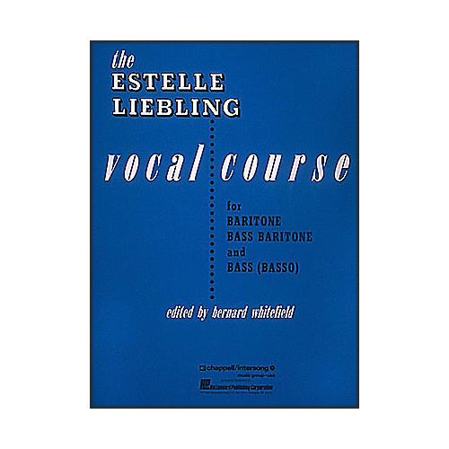Hal Leonard The Estelle Liebling Vocal Course for Barintone Voice