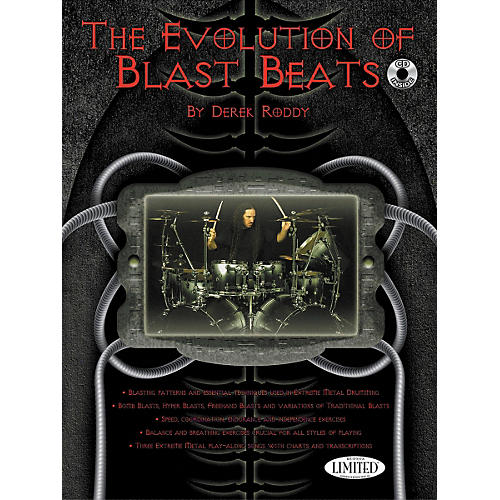 Hudson Music The Evolution Of Blast Beats By Derek Roddy (Book/CD)-thumbnail