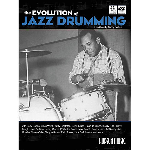 Hudson Music The Evolution Of Jazz Drumming (Book/CD/DVD)-thumbnail