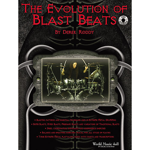 World Music 4all The Evolution of Blast Beats Book/CD