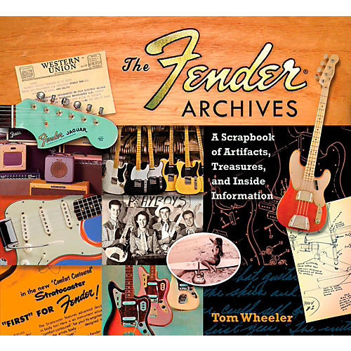 Hal Leonard The Fender Archives: A Scrapbook of Artifacts, Treasures, and Inside Information-thumbnail