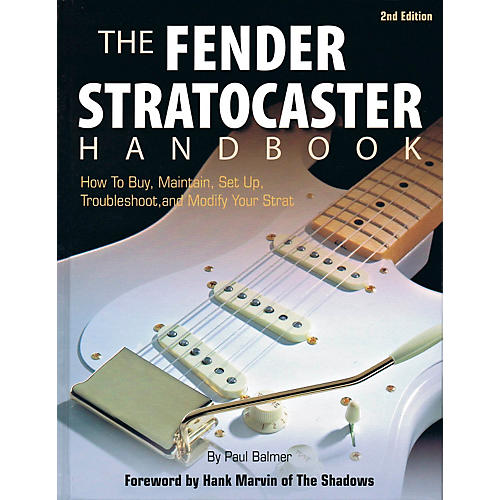 Hal Leonard The Fender Stratocaster Handbook - 2nd Edition-thumbnail