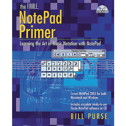 Backbeat Books The Finale NotePad Primer (Book/CD-ROM)