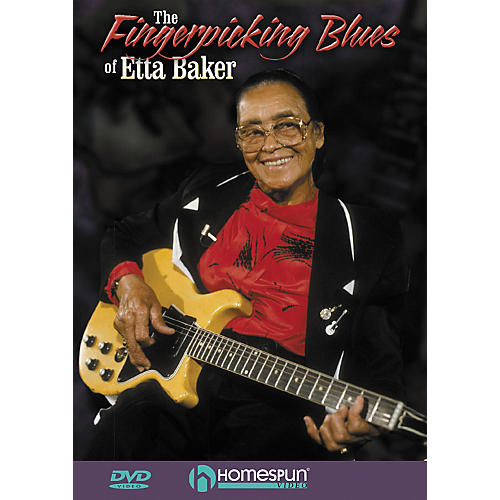 Homespun The Fingerpicking Blues of Etta Baker (DVD)