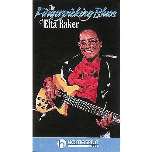 Hal Leonard The Fingerpicking Blues of Etta Baker Taught by Etta Baker Video