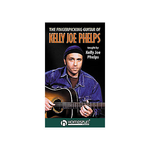 Hal Leonard The Fingerpicking Guitar of Kelly Joe Phelps VHS Video