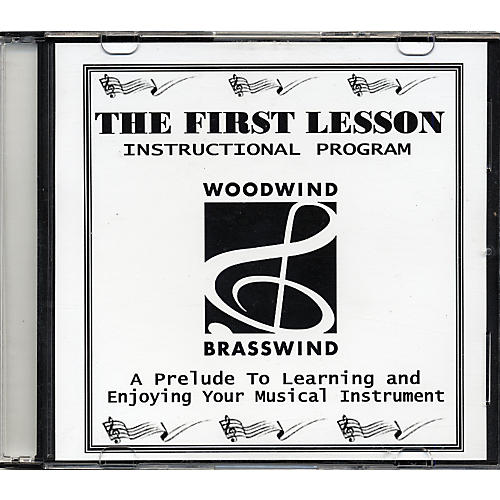 Woodwind & Brasswind The First Lesson DVD