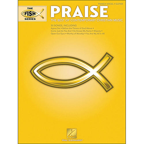 Hal Leonard The Fish Series - Praise (Yellow Book) arranged for piano, vocal, and guitar (P/V/G)