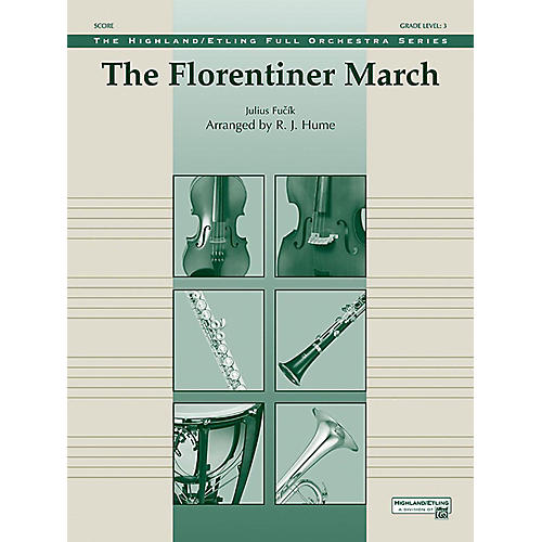 Alfred The Florentiner March Full Orchestra Grade 3 Set-thumbnail
