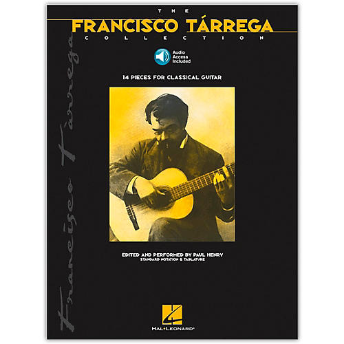 Hal Leonard The Francisco Tarrega Collection Tab & Notation (Book/Online Audio)-thumbnail