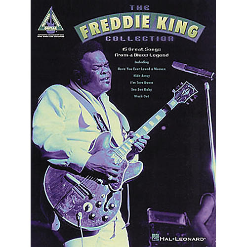 Hal Leonard The Freddie King Collection Guitar Tab Songbook-thumbnail