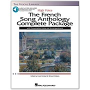 Hal Leonard The French Song Anthology Complete Package for High Voice Book/Pronunciation Guide/5 CDs