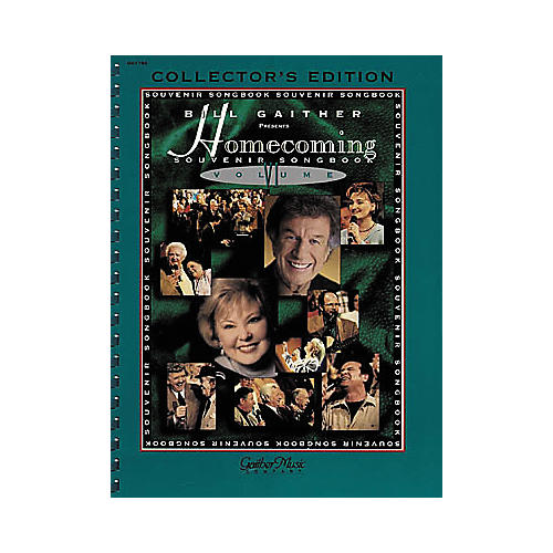 Word Music The Gaithers - Homecoming Souvenir Volume 6 (Songbook)