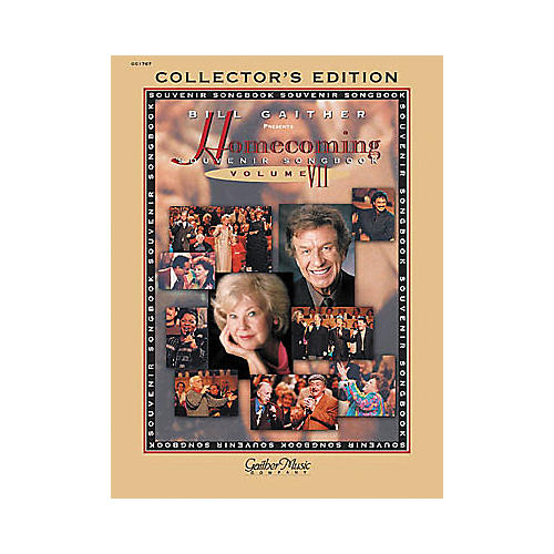 Word Music The Gaithers - Homecoming Souvenir Volume 7 Piano, Vocal, Guitar Songbook-thumbnail