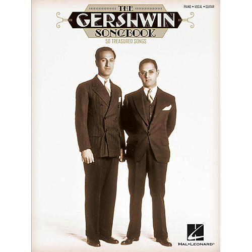 Hal Leonard The Gershwin Songbook 50 Treasured Songs