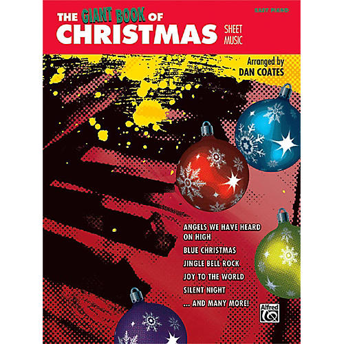 Alfred The Giant Book of Christmas Sheet Music Easy Piano