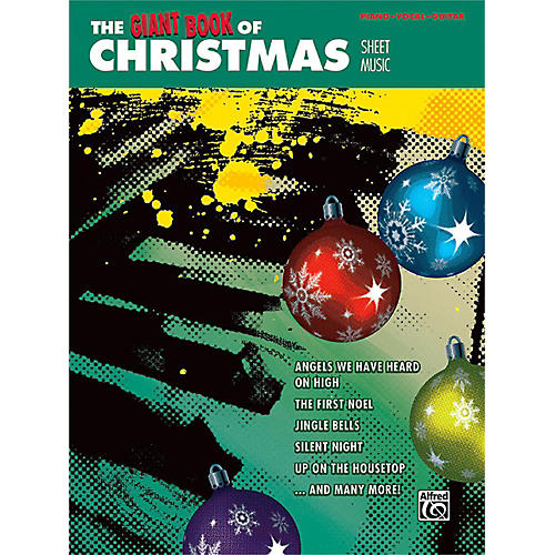 Alfred The Giant Book of Christmas Sheet Music Piano/Vocal/Guitar-thumbnail