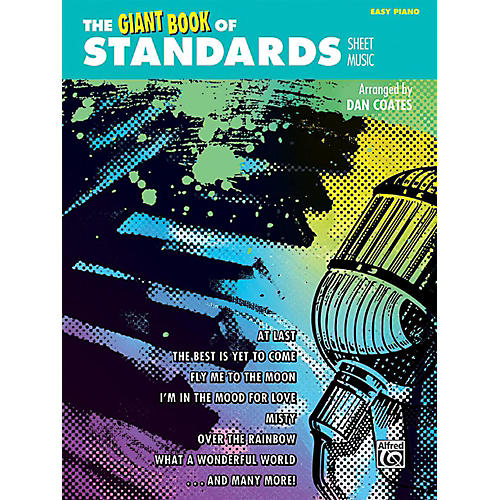 Alfred The Giant Book of Standards Sheet Music Easy Piano Book-thumbnail