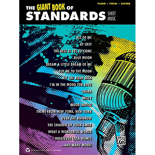 Alfred The Giant Book of Standards Sheet Music P/V/C Book-thumbnail