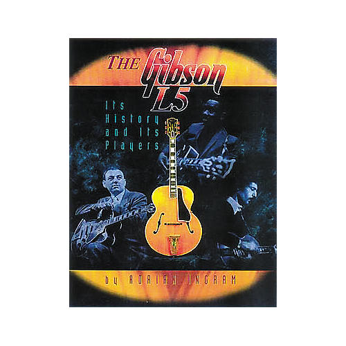Centerstream Publishing The Gibson L5 - History and Players Book-thumbnail