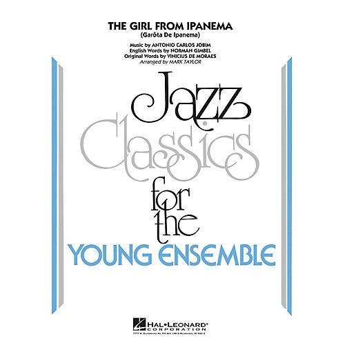Hal Leonard The Girl From Ipanema Jazz Band Level 3 by Antonio Carlos Jobim Arranged by Mark Taylor