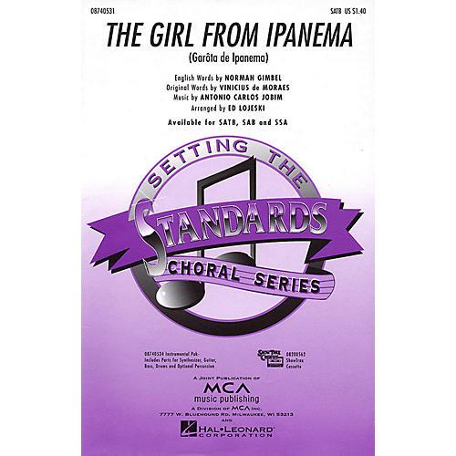 Hal Leonard The Girl from Ipanema SSA Arranged by Ed Lojeski