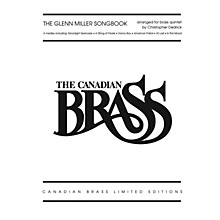 Hal Leonard The Glenn Miller Songbook Brass Ensemble Series by The Canadian Brass