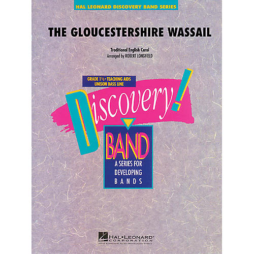 Hal Leonard The Gloucestershire Wassail Concert Band Level 1.5 Arranged by Robert Longfield