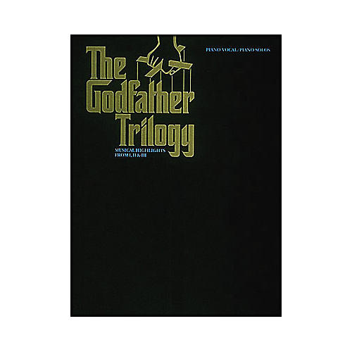 Hal Leonard The Godfather Trilogy arranged for piano solo-thumbnail