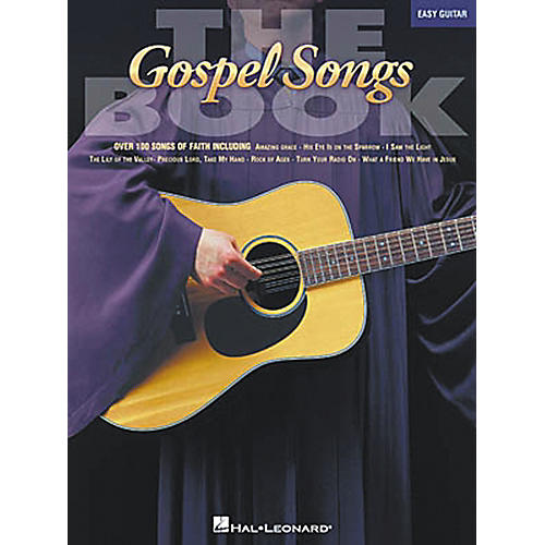 Hal Leonard The Gospel Songs Easy Guitar Songbook