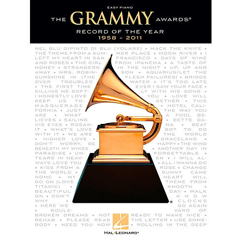 Hal Leonard The Grammy Awards Record Of The Year 1958-2011 for Easy Piano-thumbnail