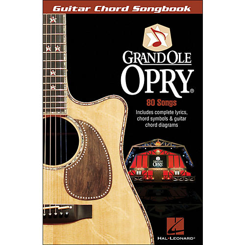 Hal Leonard The Grand Ole Opry Guitar Chord Songbook-thumbnail