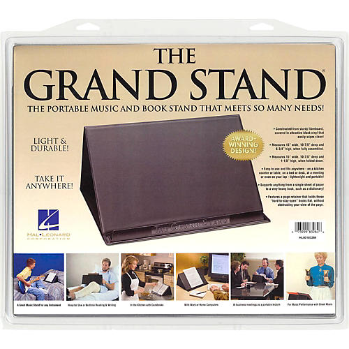 Hal Leonard The Grand Stand Portable Music and Book Stand-thumbnail