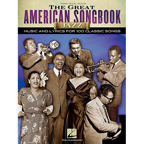 Hal Leonard The Great American Songbook - Jazz for Piano/Vocal/Guitar Songbook-thumbnail