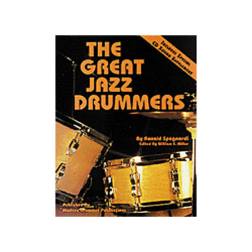 Hal Leonard The Great Jazz Drummers Book