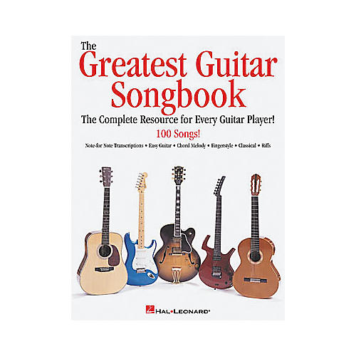 Hal Leonard The Greatest Guitar Tab Book-thumbnail