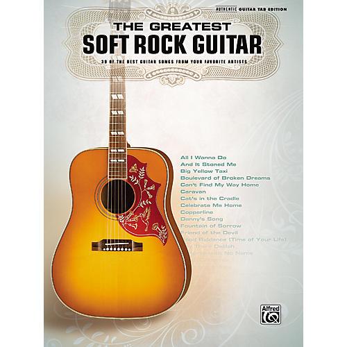 Hal Leonard The Greatest Soft Rock Guitar Tab Songbook