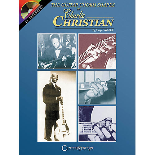 Centerstream Publishing The Guitar Chord Shapes of Charlie Christian (Book/CD)-thumbnail