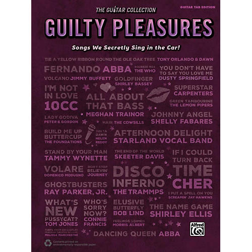 Alfred The Guitar Collection: Guilty Pleasures Guitar TAB Edition-thumbnail
